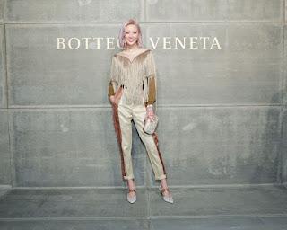 Irene Kim At Bottega Veneta Show At New York Fashion Week 2018