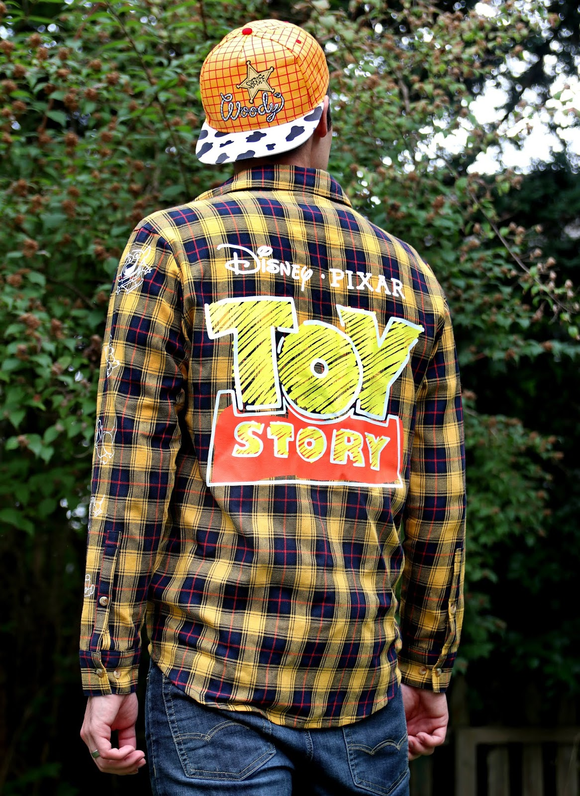 toy story flannel shirt cakeworthy