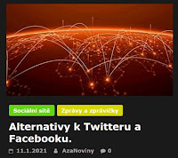 Alternativy k Twitteru a Facebooku. - AzaNoviny
