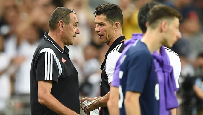 #Cristiano Ronaldo Reportedly Annoyed With Maurizio Sarri After Clash of Words During Tottenham Clash