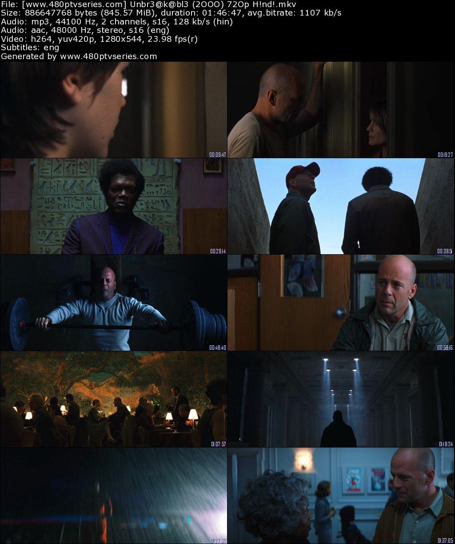 Download Unbreakable (2000) 850MB Full Hindi Dual Audio Movie Download 720p Bluray Free Watch Online Full Movie Download Worldfree4u 9xmovies