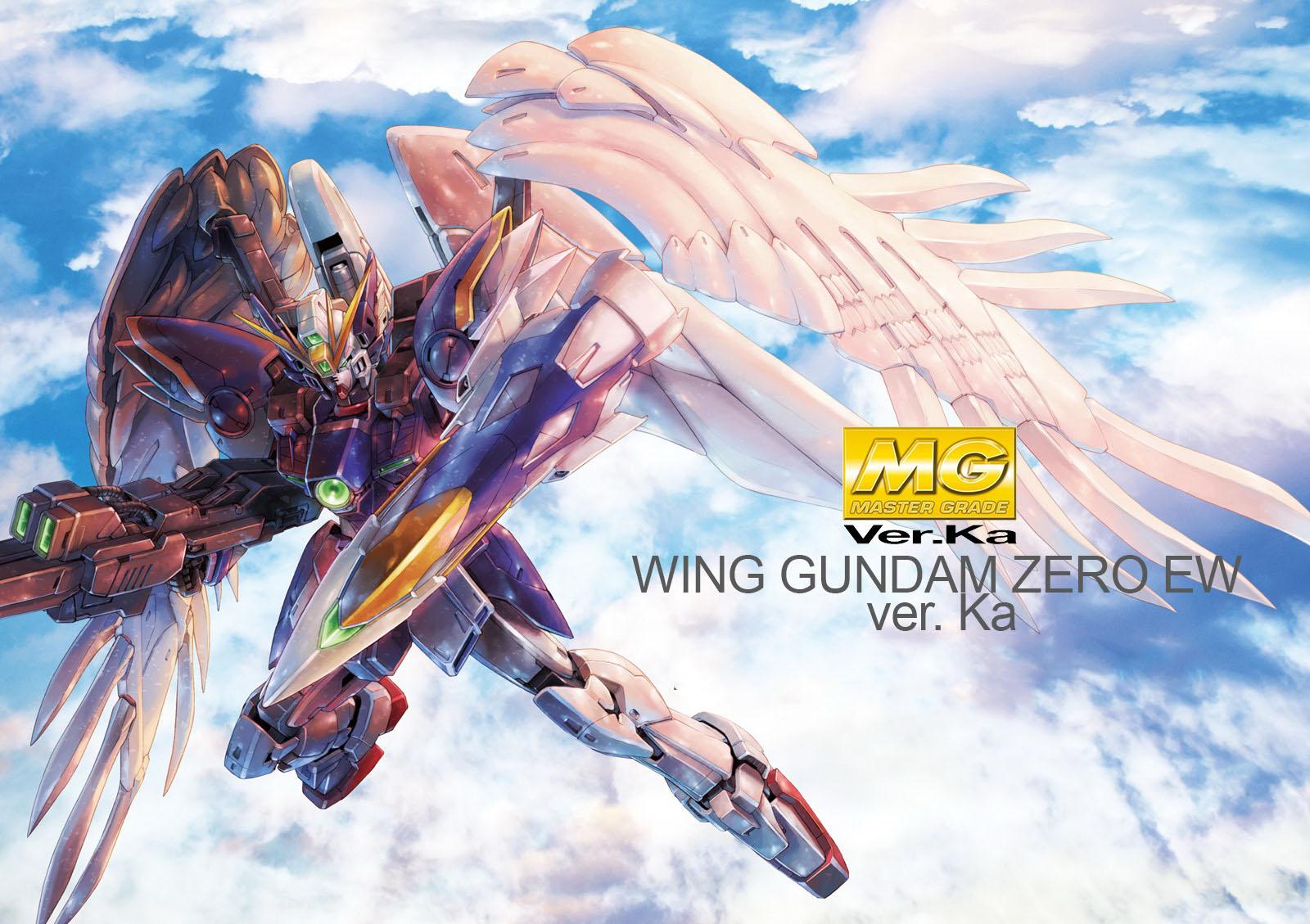 New Bandai Gundam Wing 1//100 MG Wing Gundam Zero Endless Waltz Ver Mobile Japan
