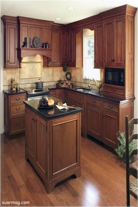 صور مطابخ - مطابخ خشب 1   Kitchen photos - Wood kitchens 1