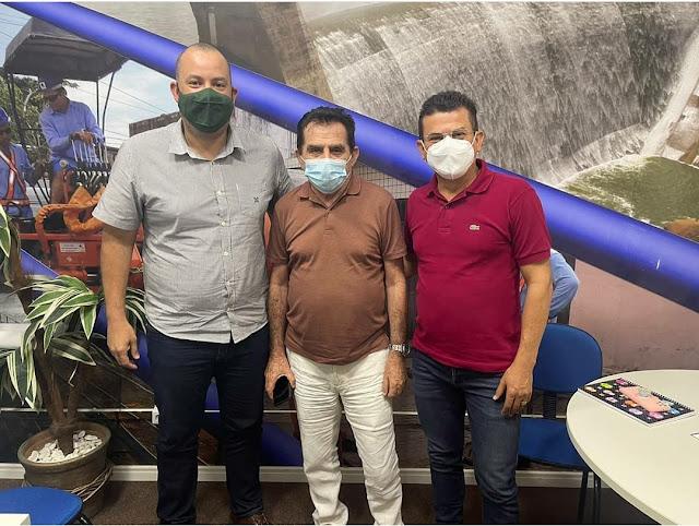 Prefeito Juninho Alves solicita conclusão das obras das caixas D'água e é atendido pela Caern