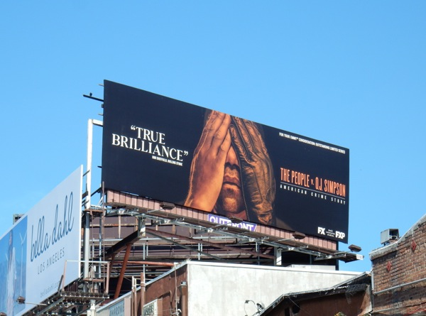 People v OJ Simpson Emmy FYC billboard