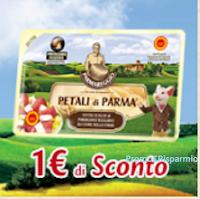Logo Petali di Parma Parmareggio: scarica il buono sconto da 1€