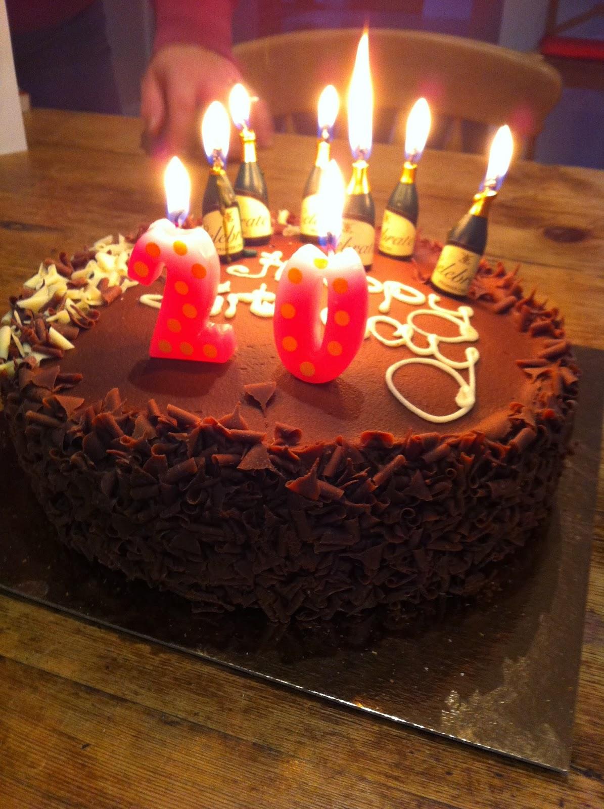 Birthday 20th Cake Quotes