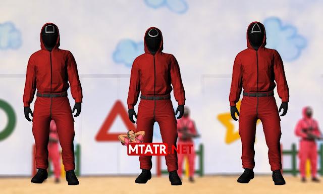 MTA SA Squid Game skins