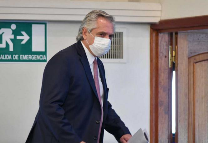 """Alberto Fernández: """"La gestión de gobierno seguirá desarrollándose del modo que yo estime conveniente"""""""