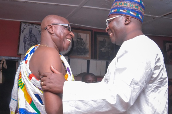 President Akufo-Addo Made The Right Choice With Bawumia - Paramount Chief Of Nyakrom
