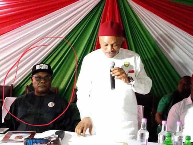 EXPOSED: Picture Evidence Show Sen. Samdaddy alleged involvement in the formation of  NPDP in Owerri (photos)