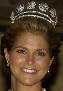 Sweden Six Button Tiara Princess Madeleine