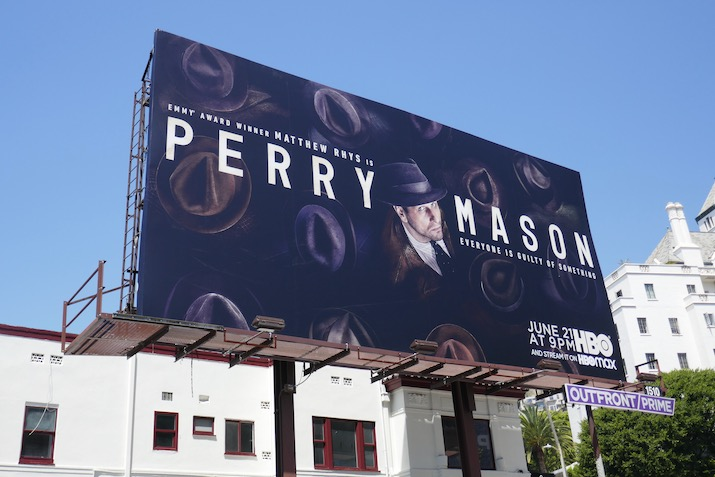 Perry Mason HBO remake billboard