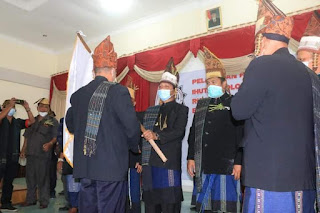 H. Ir. Amran Sinaga M.Si Pimpin Ihutan Bolon Hasadaon Sinaga Rumah Bolon Harajaon Tanoh Jawa Boru Pakkon Panogolan Masa Bhakti 2021-2026