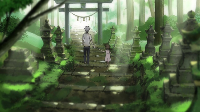 สู่ป่าแห่งแสงหิ่งห้อย (Hotarubi no Mori e: 蛍火の杜へ)