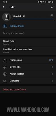 Hapus Grup Telegram Permanen