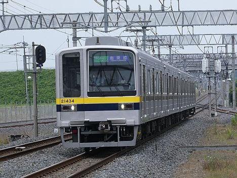 【ダイヤ改正で登場】20400型のワンマン 南栗橋行き