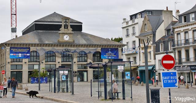 Les Halles fuori dalla Ville Close di Concarneau