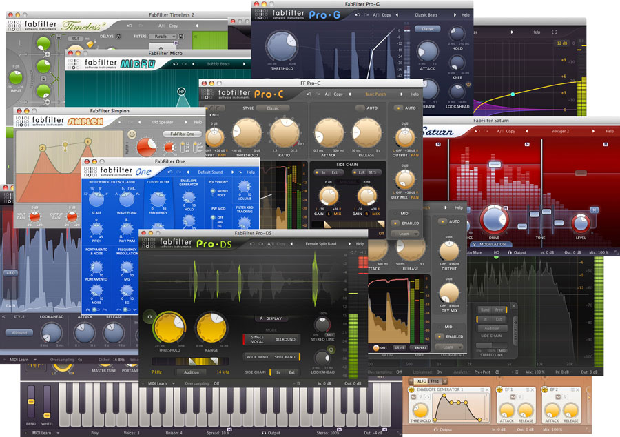 Total Bundle 13.3 by FabFilter