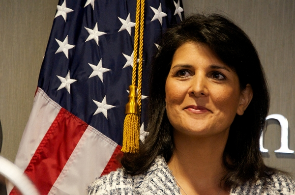 Nikki Haley Chosen as U.N. Ambassador