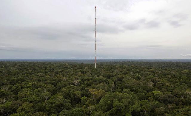 Em parceira Brasil e Alemanha  foi erguida no meio da Amazônia