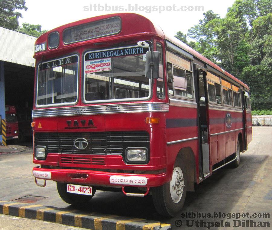 SLTB buses - ශ්රී ලංගම බස්: Ruby bodied TATA LP 1510/52 ...