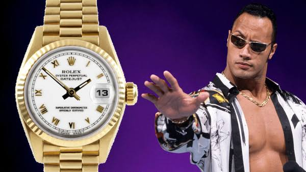 Most Expensive Things owned by Dwayne Johnson - Rolex Watch