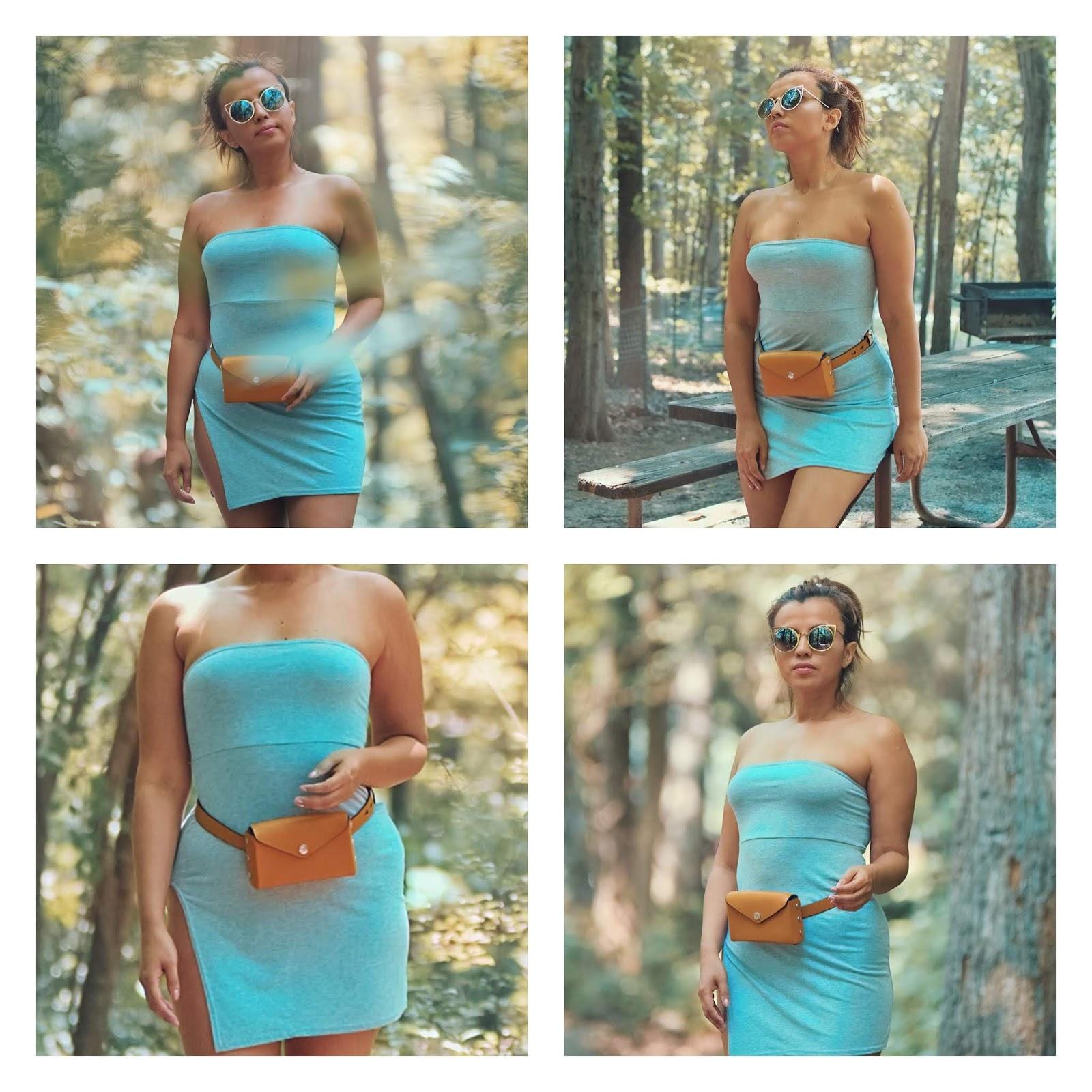 Grey Split Side Bandeau Bodycon Dress -mariestilo-lookoftheday-travel-traveller-blogger style-fashionblogger-marisolflamenco-femme luxe-luxegal-armandhugon-maryland state parks-mariestilo-lookoftheday-femme luxe-luxegal-armandhugon-dcblogger-