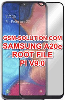 How to Root Samsung A20e (SM-A202F,SM-A202FD,SM-A202FN,SM-A202K) On Pie V9.0