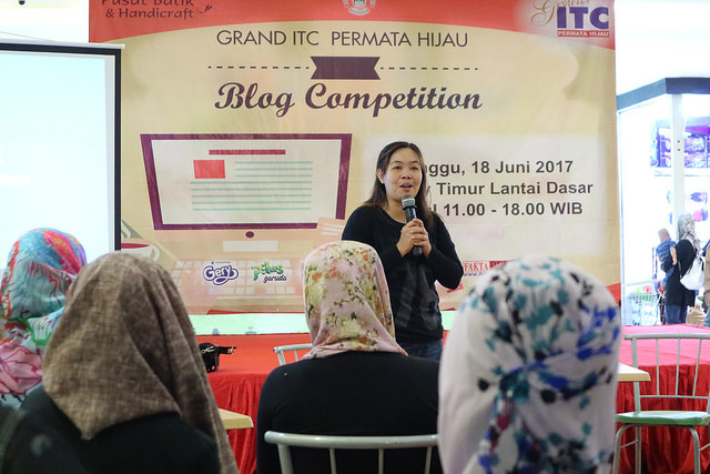 Sharing Season bersama Monica anggen