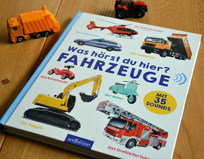 "[Rezension] ""Was hörst du hier? - Fahrzeuge"", Bilderbuch, Kinderbuch"