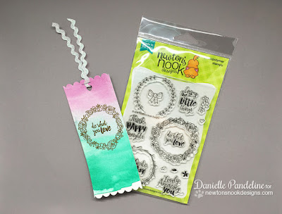 Happy Little Thoughts | Newtons Nook Designs | Bookmark Created by Danielle Pandeline