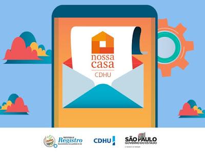 CDHU irá realizar sorteio eletrônico para formação de suplência complementar dos inscritos empreendimento Registro E