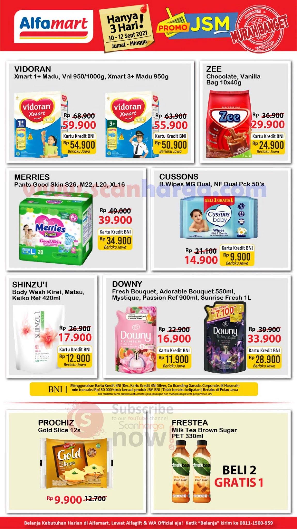 Katalog Promo JSM Alfamart Weekend 10 - 12 September 2021 3