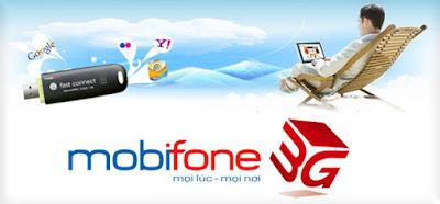 Đăng kí 3G gói cước M120 của mobifone cho điện thoại