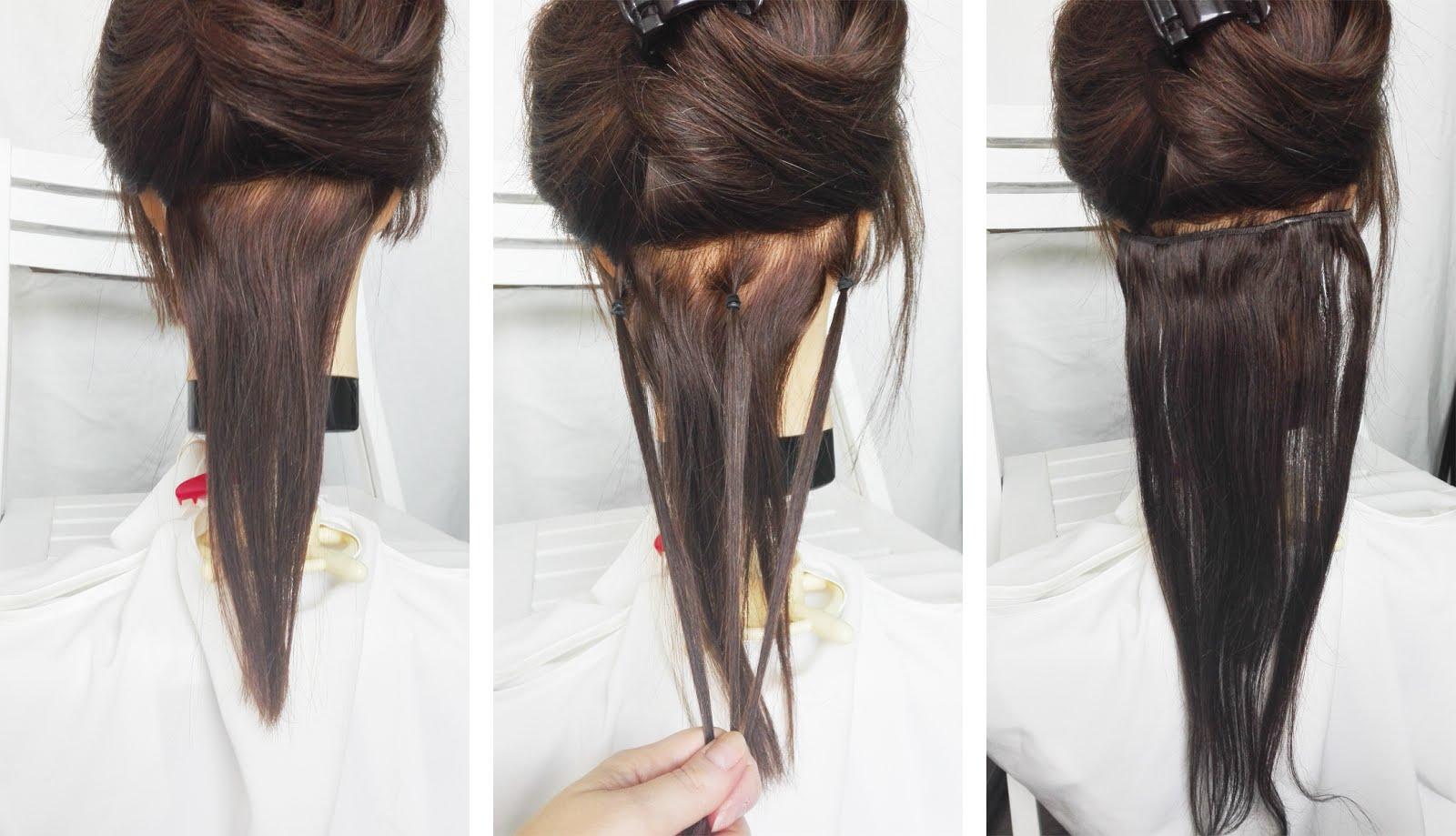 Dopinki Clip In Krok Po Kroku Hair By Jul Fryzury Krok Po