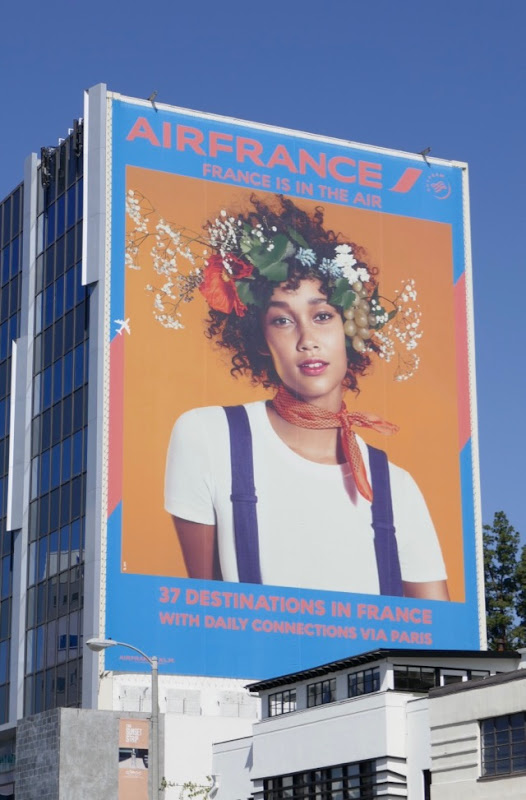Giant Air France 37 destinations billboard