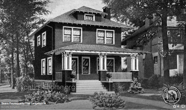 Daily Bungalow / Antique Home image of Sears Langston, 1923 catalog
