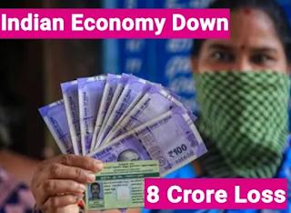 Corona Lockdown Economy Loss Of About 8 Lakh Crores ,  लॉकडाउन से अर्थव्यवस्था को करीब 8