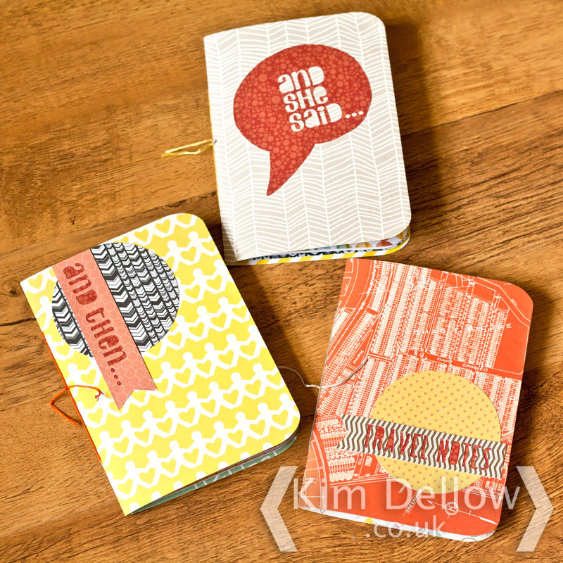DIY Cricut Explore notebooks