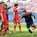 Bayern goleia em Leverkusen e coloca uma mão na salva de prata; RB Leipzig tropeça no lanterna em casa