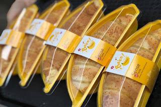 Cách làm bánh bông lan hình quả chuối Thái Lan 2 công thức nhân 1