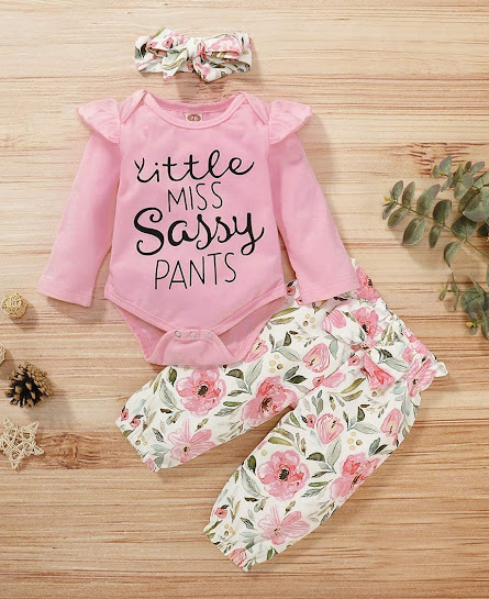 Funny Infant Baby Girl Clothes