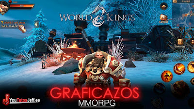 wow para android, Descargar World of Kings
