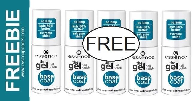 FREE Essence Gel Nail Polish at CVS 6-20-6-26