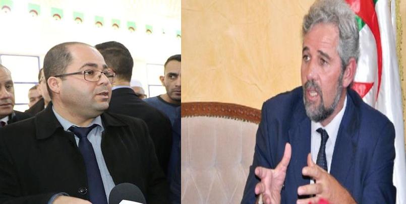 تبون ينهي مهام وزير البريد+ابراهيم بومزار+سيد أحمد فروخي+اسباب اقالة بومزار؟+تبون  و بومزار+Tebboune+boumzar