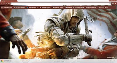 Assassin's Creed 3 Google Chrome Theme
