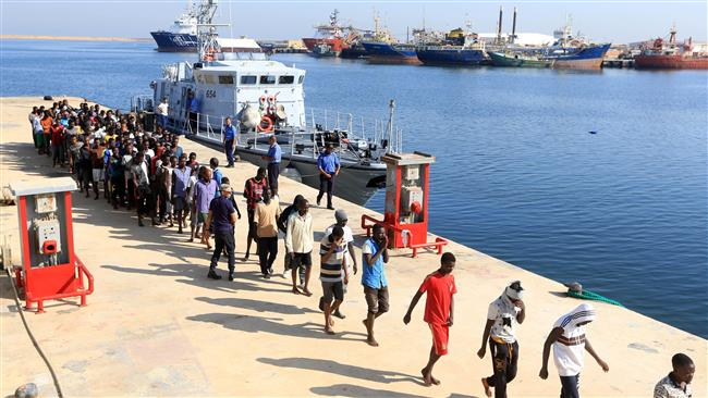 Libyan coast guard rescues about 500 refugees off western coasts