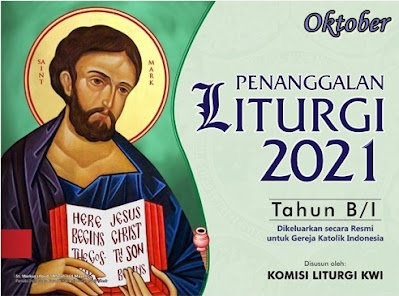 KALENDER LITURGI OKTOBER 2021