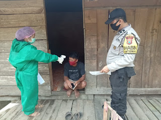 Terpuji, 2 Warga Pendatang di Kaduaja Tator Lapor Diri